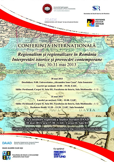 International Conference Regionalism and Regionalisation in Romania. Historical Interpretations and Contemporary Challenges